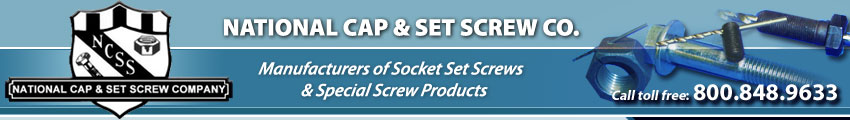 National Cap & Set Screw - Socket Screw Products, Studs, Threaded Rod